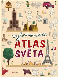 Vybarvovací atlas světa