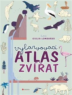 Obálka titulu Vybarvovací atlas zvířat