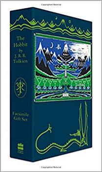Obálka titulu The Hobbit Facsimile Gift Edition