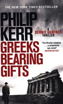 Obálka titulu Greeks Bearing Gifts