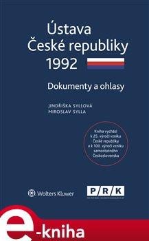 Obálka titulu Ústava České republiky 1992 - Dokumenty a ohlasy