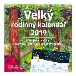 Obálka titulu Velký rodinný kalendář 2019