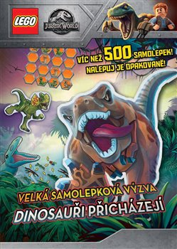 Obálka titulu Dinosauři přicházejí