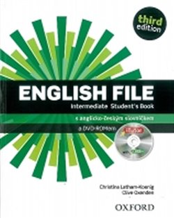 Obálka titulu English File Third Edition Intermediate Student´s Book with iTutor DVD-ROM CZ