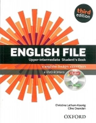 English File Third Edition Upper Intermediate Student´s Book with iTutor DVD-ROM CZ - Christina Latham-Koenig, | Booksquad.ink
