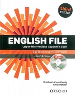 Obálka titulu English File Third Edition Upper Intermediate Student´s Book with iTutor DVD-ROM CZ