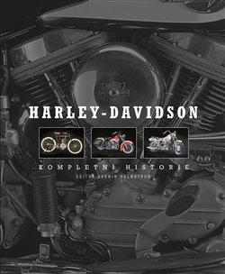 Obálka titulu Harley-Davidson Kompletní historie