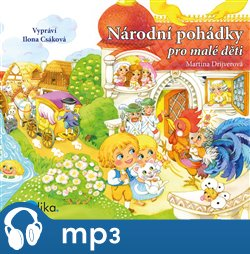Národní pohádky pro malé děti - Martina Drijverová