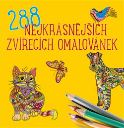 Obálka titulu 288 nejkrásnějších zvířecích omalovánek