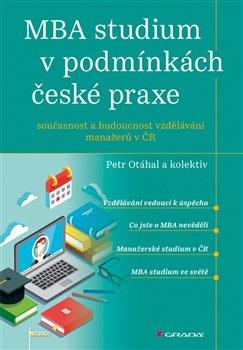 Obálka titulu MBA studium v podmínkách české praxe
