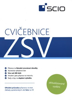 Obálka titulu Cvičebnice ZSV Scio