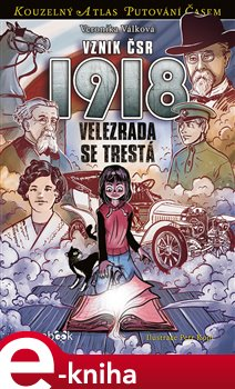 Obálka titulu Vznik ČSR 1918