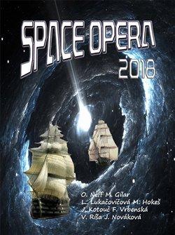 Obálka titulu Space opera 2018
