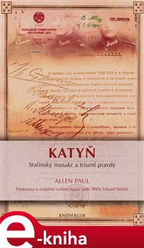Obálka titulu Katyň