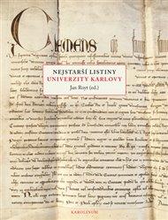 Nejstarší listiny Univerzity Karlovy