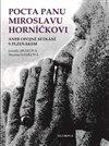 Obálka knihy Pocta panu Miroslavu Horníčkovi