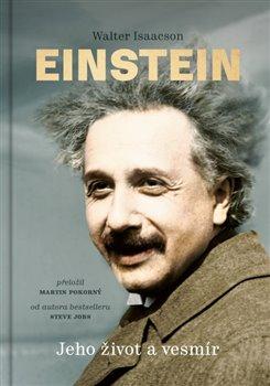 Obálka titulu Einstein Jeho život a vesmír