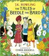 Obálka knihy The Tales of Beedle the Bard: Illustrated Edition