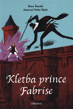 Obálka titulu Kletba prince Fabrise