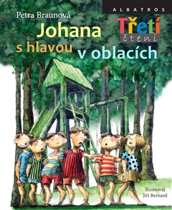 Obálka titulu Johana s hlavou v oblacích