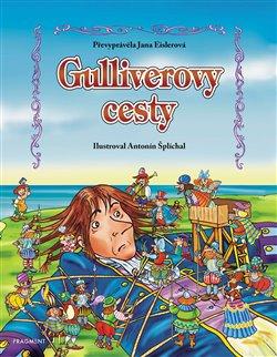 Obálka titulu Gulliverovy cesty – pro děti