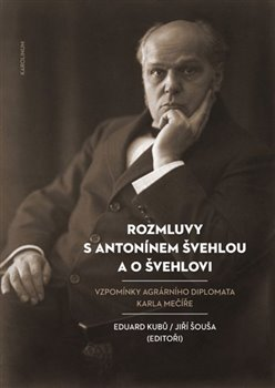 Obálka titulu Rozmluvy s Antonínem Švehlou a o Švehlovi