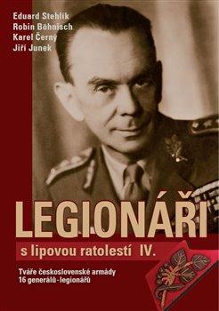 Obálka titulu Legionáři s lipovou ratolestí IV.