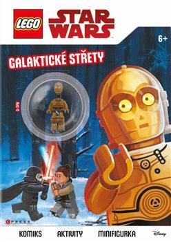 Obálka titulu Lego Star Wars: Galaktické střety