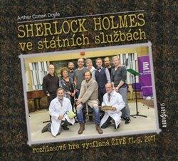 Obálka titulu Sherlock Holmes ve státních službách