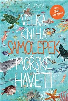 Obálka titulu Velká kniha samolepek mořské havěti