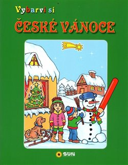 Obálka titulu České Vánoce - Vybarvi si