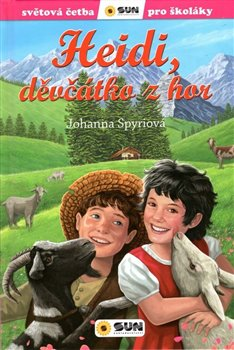 Obálka titulu Heidi, děvčátko z hor