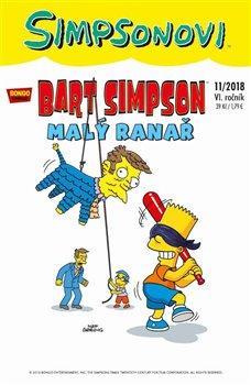 Obálka titulu Bart Simpson 11/2018: Malý ranař