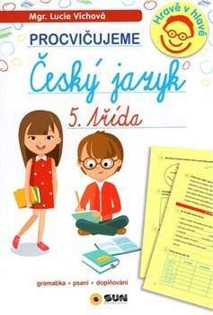Obálka titulu Český jazyk 5. třída - procvičujeme