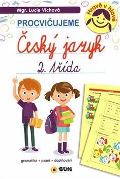 Obálka titulu Český jazyk 2. třída - procvičujeme