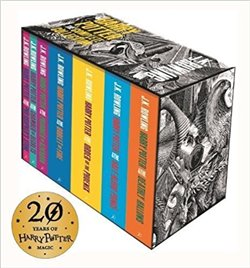 Obálka titulu Harry Potter Boxed Set: The Complete Collection (Adult Paperback)