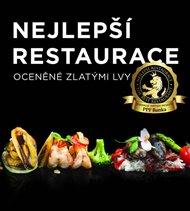 Nejlepší restaurace oceněné zlatými lvy 2019