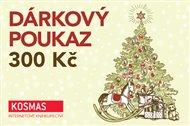 Vánoční elektronický dárkový poukaz v hodnotě 300 Kč