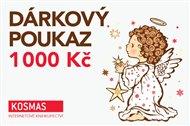 Vánoční elektronický dárkový poukaz v hodnotě 1000 Kč