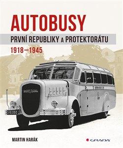 Obálka titulu Autobusy první republiky a protektorátu