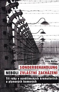 Obálka titulu Sonderbehandlung neboli zvláštní zacházení