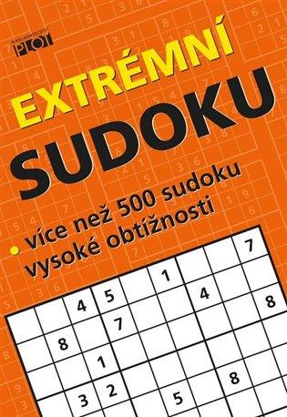 Extrémní sudoku - Více než 500 sudoku nejvyšší obtížnosti - Petr Sýkora | Booksquad.ink