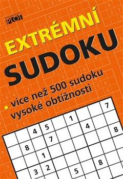 Obálka titulu Extrémní sudoku - Více než 500 sudoku nejvyšší obtížnosti