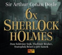 Obálka titulu 6x Sherlock Holmes