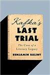 Obálka knihy Kafka's Last Trial: The Case of a Literary Legacy