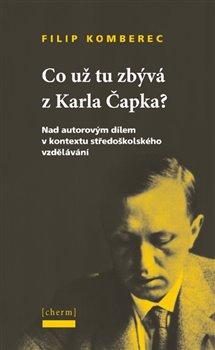 Obálka titulu Co už tu zbývá z Karla Čapka?
