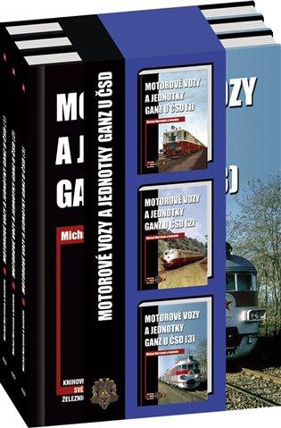 Motorové vozy a jednotky Ganz u ČSD - sada - Michal Martinek, | Booksquad.ink