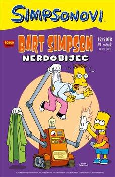 Obálka titulu Bart Simpson 12/2018: Nerdobijec