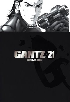 Obálka titulu Gantz 21
