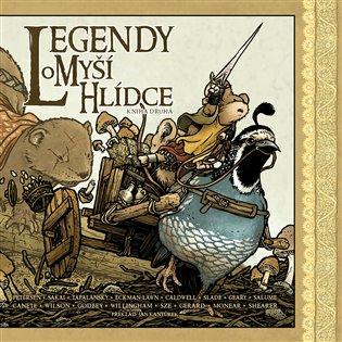 Legendy o Myší hlídce: Kniha druhá - David Petersen, | Booksquad.ink